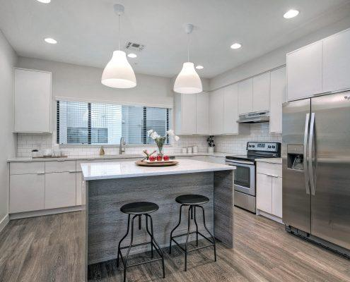 1000 on 5th Townhomes Unit Kitchen