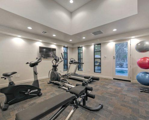 1000 on 5th Townhomes Community Gym