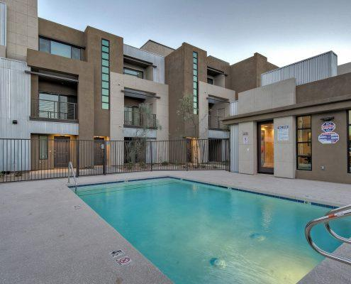 1000 on 5th Townhomes Community Pool